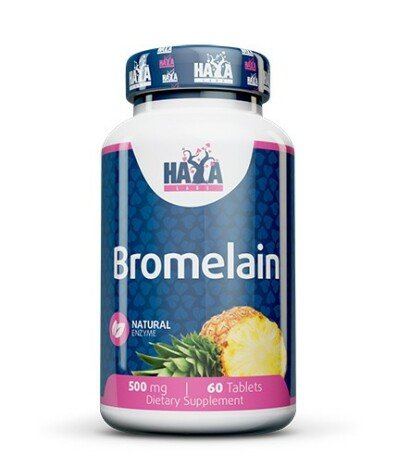 Haya Labs Bromelain 500mg 2000 GDU 60 Tablete